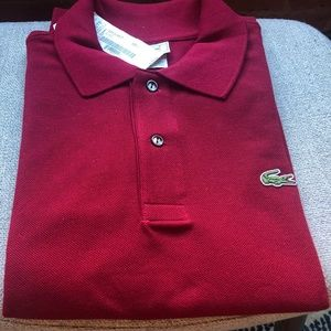 New Lacoste Classic Cotton Polo Shirt